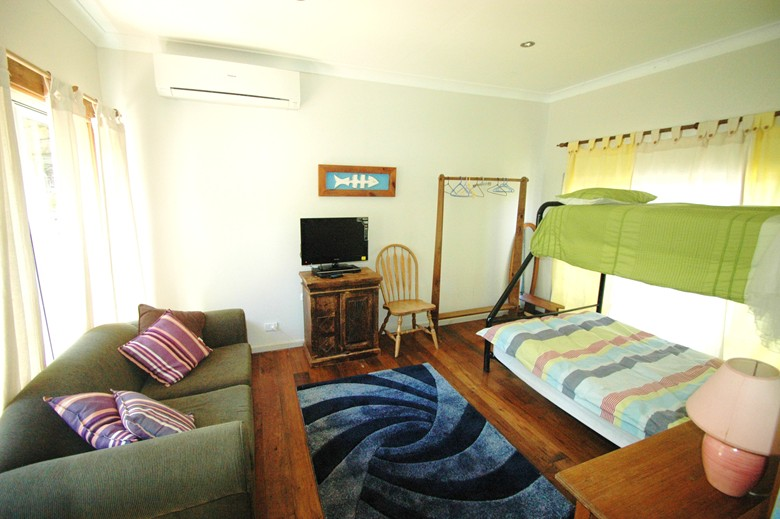 Rumpus room at Copa Shells Beach House - A pet friendly holiday accommodation beach house with dog friendly beaches at Copacabana Beach on the Central Coast NSW
