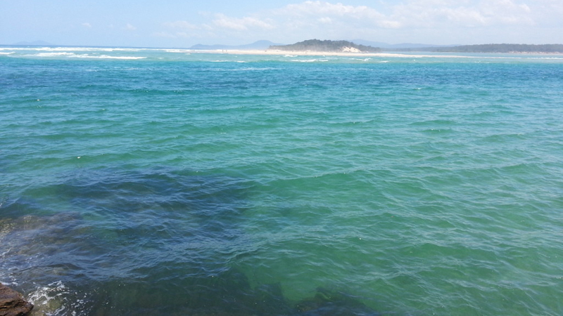 Beach near Creek St River House. A pet friendly accommodation beach house with dog friendly beaches for your holiday at Nambucca Heads near Valla Beach, Mid North Coast NSW